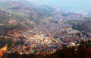 क्या राम्रो बागलुङ बजार !, भकुण्डेबाट देखिएको रमणिय दृश्य