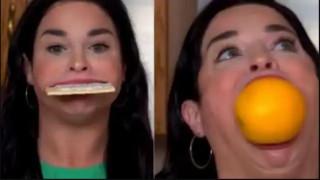 संसारको सबैभन्दा ठूलो मुख भएको महिला : मुख ६.५२ सेमी खुल्छ, बनाइन् वर्ल्ड रेकर्ड